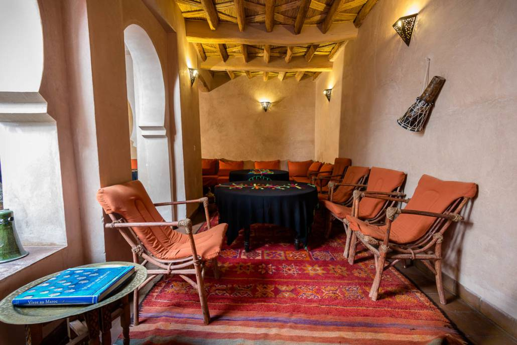 Salon Riad Dar Bladi Ouarzazate