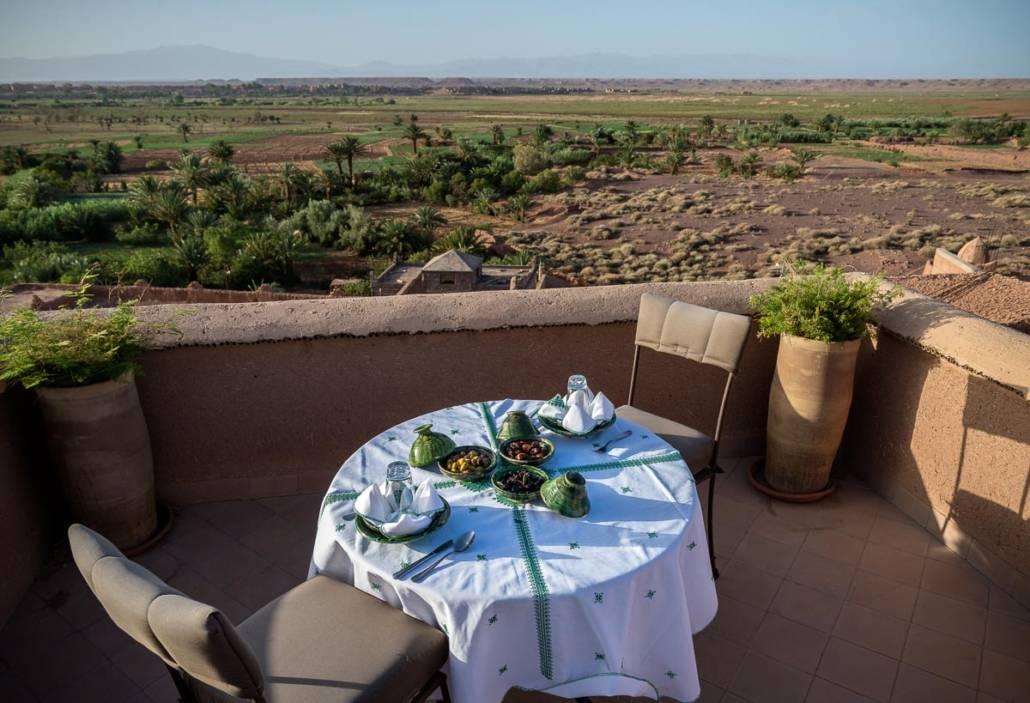 Terrasse, Jardines Ouarzazate