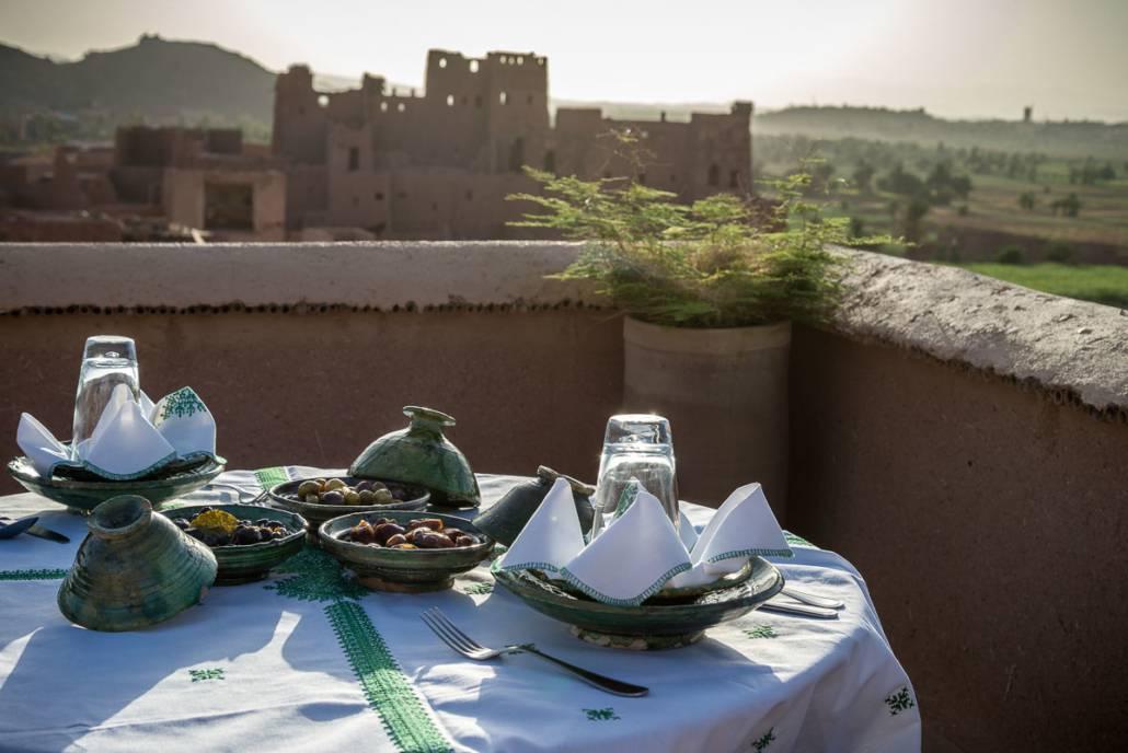 Terrasse, Riad Bladi Ouarzazate