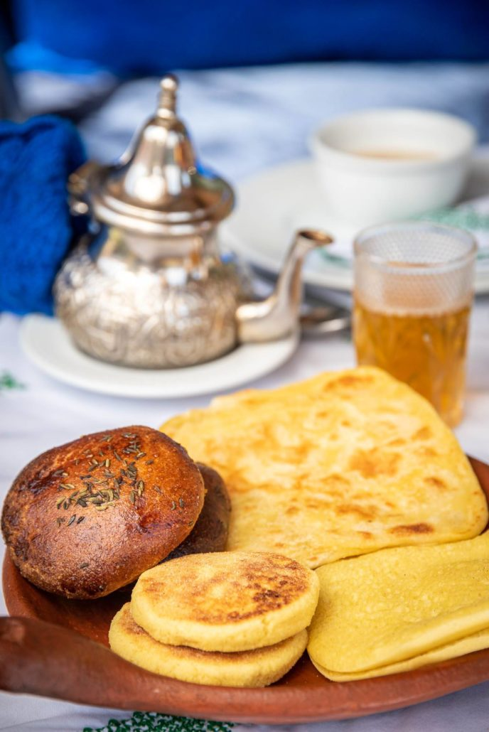 Riad Ouarzazate petit dejeuner