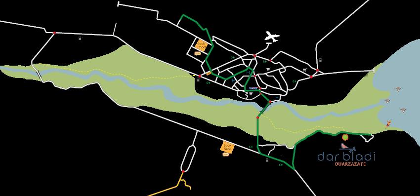 Bus Ouarzazate